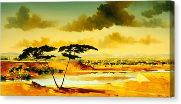 The Jewel Of Hlubluwe Canvas Print by Andrew Hewkin
