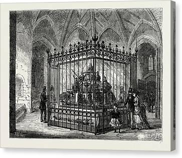 The Jewel Room At The Tower Canvas Print by Litz Collection