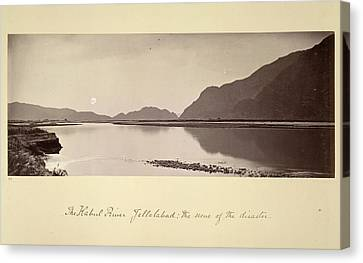 The Kabul River Canvas Print by British Library