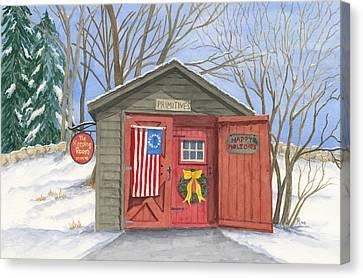 The Keeping Room Canvas Print by Rhonda Leonard