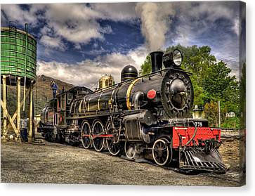 The Kingston Flyer Canvas Print by Phil 'motography' Clark