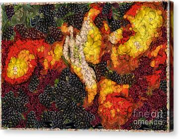The Kiss - Being One With Nature Canvas Print by Nishanth Gopinathan