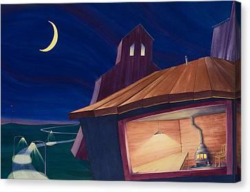 The Kitchen II Canvas Print by Scott Kirby