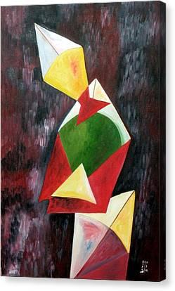 The Kites Canvas Print by Dipali Deshpande
