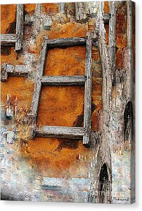 The Ladder  Canvas Print by Makarand Purohit