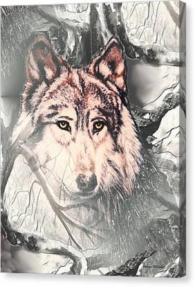 The Lair Canvas Print by Melodye Whitaker