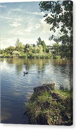 The Lake Canvas Print by Amanda And Christopher Elwell