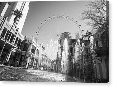 The Las Vegas High Roller Canvas Print by Susan Stone
