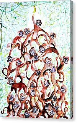 The Last Banana Canvas Print by Fabrizio Cassetta