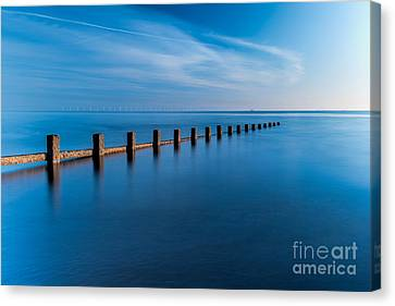 The Last Posts Canvas Print by Adrian Evans