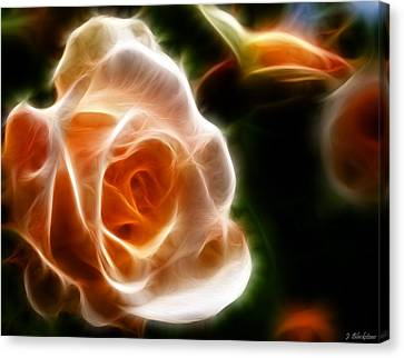 The Last Rose Of Summer Canvas Print by Jordan Blackstone