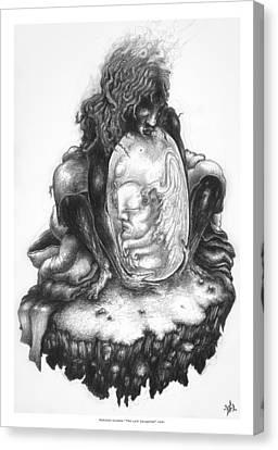 The Last Seraphim Canvas Print by Natanel Araeha