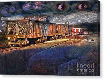 The Last Shipment Canvas Print by Gunter Nezhoda
