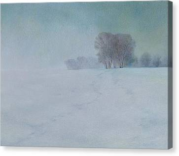 The Last Snow Canvas Print by Lynn Bywaters