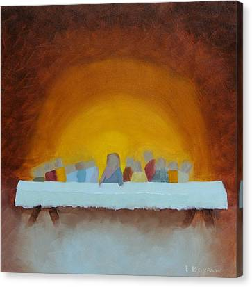 The Last Supper Canvas Print by Elise Boysaw
