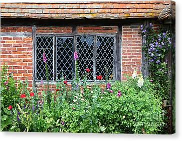 The Lattice Window Canvas Print by James Brunker
