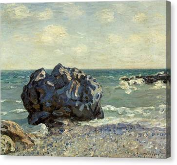 The Laugland Bay Canvas Print by Alfred Sisley