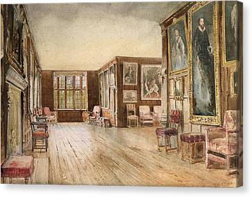 The Leicester Gallery, Knole House Canvas Print by David Hall McKewan