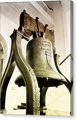 The Liberty Bell Canvas Print by Bill Cannon
