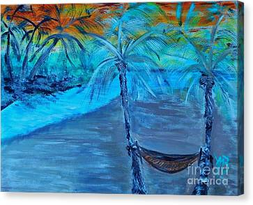 The Life Canvas Print by Marie Bulger