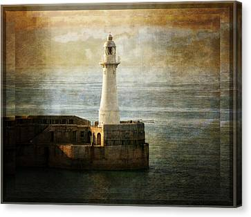 The Lighthouse Canvas Print by Lucinda Walter