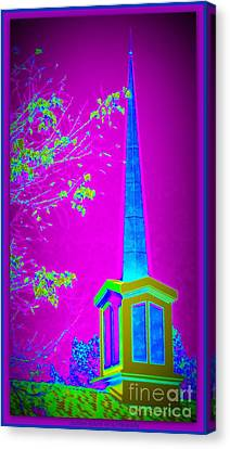 The Lights On Canvas Print by Bobbee Rickard