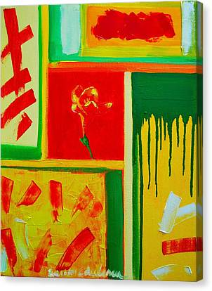 The Little Flower Canvas Print by Ana Maria Edulescu