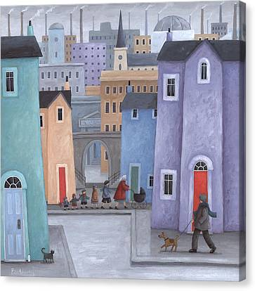 The Little Ones Canvas Print by Peter Adderley