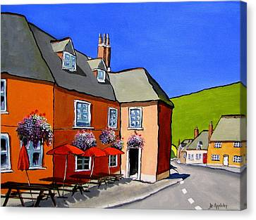 The Local Canvas Print by Jo Appleby