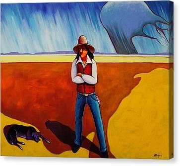 The Logic Of Solitude Canvas Print by Joe  Triano