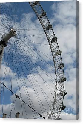The London Eye Canvas Print by Zori Minkova