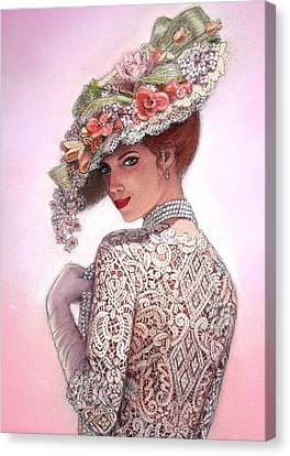 The Look Of Love Canvas Print by Sue Halstenberg