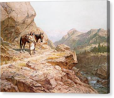 The Look Out Canvas Print by Henry Raschen