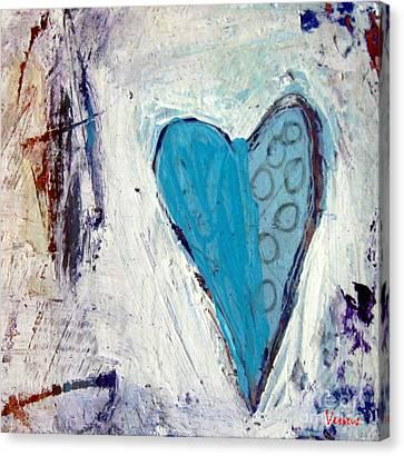 The Love Inside Canvas Print by Venus