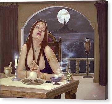 The Love Spell Canvas Print by John Silver