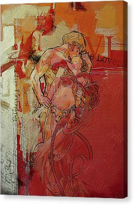 The Lovers  Canvas Print by Corporate Art Task Force