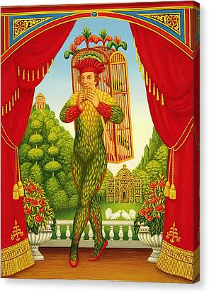 The Magic Flute Canvas Print by Frances Broomfield