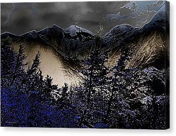 The Magical Tiroler Mountains Austria Canvas Print by Gerlinde Keating - Galleria GK Keating Associates Inc