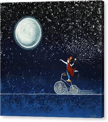 The Magician Canvas Print by Graciela Bello