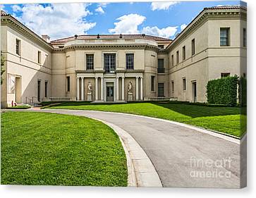 The Magnificent Huntington Art Gallery. Canvas Print by Jamie Pham