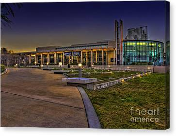 The Mahaffey Theater Canvas Print by Marvin Spates