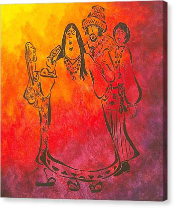 The Mamas And Papas Canvas Print by Pamela Allegretto