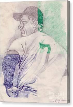 The Mantle Canvas Print by Donald Jones