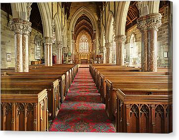 The Marble Church Canvas Print by Mal Bray