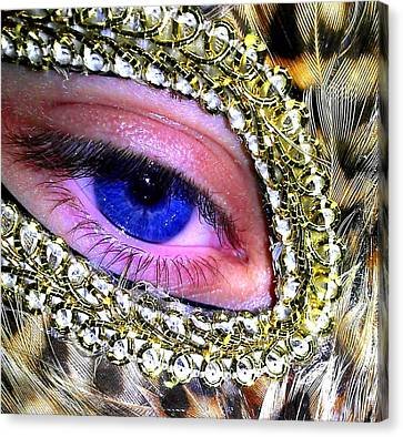 The Mask Canvas Print by Donnie Freeman