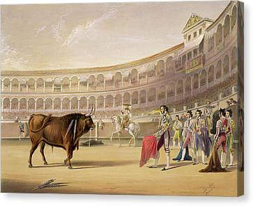 The Matador Canvas Print by William Henry Lake Price