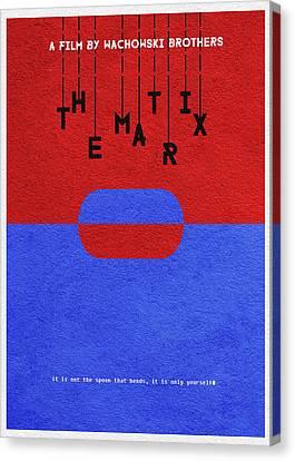 The Matrix Canvas Print by Ayse Deniz