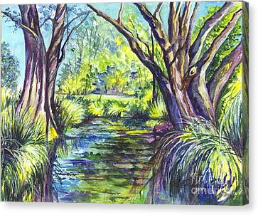 The Melaleucas Canvas Print by Carol Wisniewski