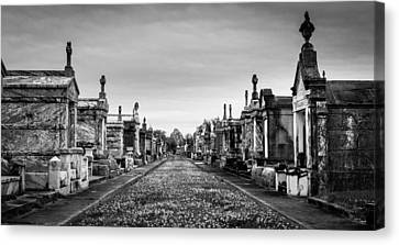 The Metairie Cemetery Canvas Print by Tim Stanley