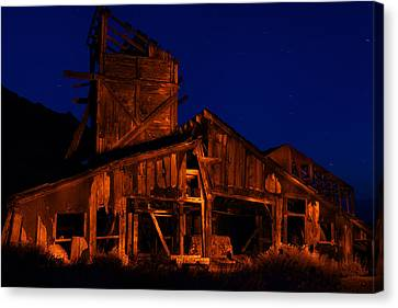 The Mill Canvas Print by Greg Thelen